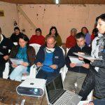 CRATE apoya a agricultoras de Pelarco para mejorar contenedores de agua lluvia