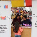 Área Infancia y Familia de Curicó participó en actividad por Día del Niño