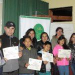 Grupo Catequesis de la Iglesia Nuestra Señora del Tránsito de Molina concluyó Taller de Familias Fuertes