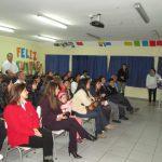 Efectuaron cierre de taller de Familias Fuertes del Colegio Alta Cumbre de Curicó