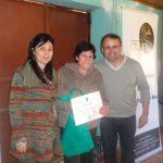 Área Desarrollo Sustentable certificó a líderes rurales