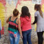 PIE Linares ofreció taller de graffiti para usuarios del Programa