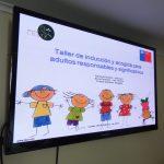 Efectuaron taller de acogida a familias que se encuentran en proceso de diagnóstico