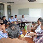 Equipo del proyecto GLRRD tramita captación de agua para la comunidad de Palmas de Toconey