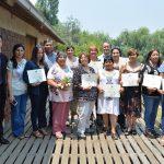 Área de Desarrollo Sustentable certificó a Líderes rurales
