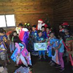 Usuarios del PRM Kumelkan celebraron navidad