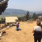 PRM Ayún entregó ayuda a familias de zonas afectadas por los incendios