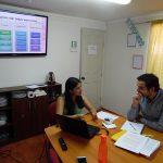 Profesionales del PRM Llapemn realizaron inducción a nuevo psicólogo del programa