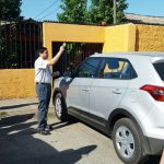 DAM Kelluwün realizó la bendición del nuevo automóvil