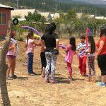 PRM Suyai entregó alegría a niños y niñas de zonas afectadas por los incendios