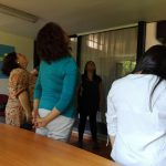 Profesionales del PRM Llapemn participan en capacitación sobre pantomima