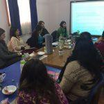 Profesionales del PRM Kümelkan se capacitaron en perspectivas de género