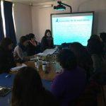 Profesionales del PRM Kümelkan participaron en autocapacitación sobre intervención familiar con niños y niñas