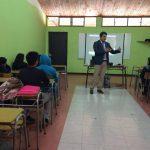 PRM Kümelkan realizó charla sobre responsabilidad penal  adolescente en el Liceo Carlos González