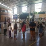 Niños y niñas del PRM Ayún celebraron la navidad junto a la Pastoral de la UCM