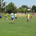 PIE Linares realizó partido de baby fútbol entre adolescentes del programa