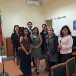 Profesionales del PRM Ayún y DAM Curicó sostuvieron reunión con el Juzgado de Letras y Garantía de Licantén