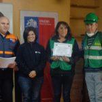 """Se desarrolló Curso de """"Equipos Comunitarios de Respuesta ante Emergencias"""" a la comunidad de Curepto"""