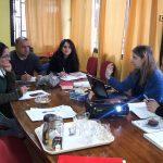 Reunión de planificación año 2018 realizaron directores y miembros de programas pertenecientes a Área de Talca de Fundación CRATE.