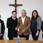 Primera Visita del Director Sercotec Maule a Fundación CRATE