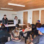 El Área de Gestión y Desarrollo Habitacional realizó Reunión informativa de avance de obras de construcción en la comuna de Rio Claro