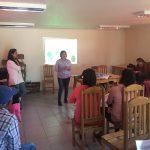 En la localidad rural de Corralones, comuna de San Clemente  se realizó presentación de los proyectos de Mejoramiento, ampliación de la vivienda y colectores solares