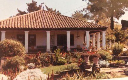 Antigua casa de la familia Donoso
